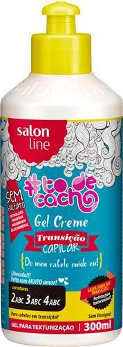 GEL CREME SALON LINE  {DO MEU CABELO CUIDO EU} - 300ML