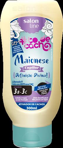 MAIONESE CAPILAR #TODECACHO - DEFINIÇÃO DIVINA LIBERADO - 300ML