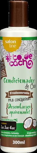 CONDICIONADOR DE COCO #TODECACHO - TRATAMENTO PARA CONQUISTAR - LIBERADO 300 ML