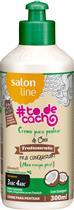 CREME PARA PENTEAR COCO #TODECACHO - TRATAMENTO PRA CONQUISTAR (3 E 4ABC) 300ML