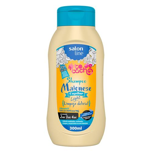 SHAMPOO #TODECACHO - MAIONESE LIGHT LIBERADO - 300ML