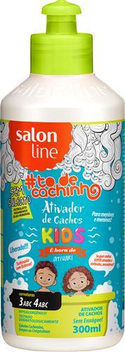 ATIVADOR DE CACHOS #TODECACHO - KIDS LIBERADO - 300ML