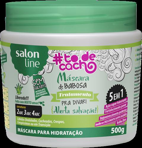 MÁSCARA DE BABOSA #TODECACHO - TRATAMENTO PARA DIVAR - 500GR
