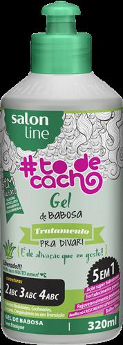 GEL DE BABOSA #TODECACHO - TRATAMENTO PARA DIVAR LBERADO - 320ML