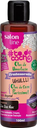 ÓLEO DE UMECTAÇÃO #TODECACHO - UHULLL! COCO PURÍSSIMO - 100ML