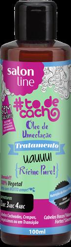 ÓLEO DE UMECTAÇÃO #TODECACHO - UAUUU! RÍCINO PURO! - 100ML