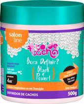 DEFINIDOR DE CACHOS #TODECACHO - BORA DEFINIR BLACK E POWER! - 500GR
