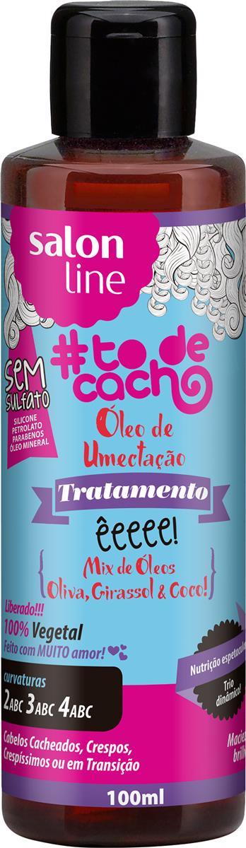 ccc5d1a69 Óleo de Umectação #todecacho êeeee! Mix de Óleos Salon Line 100ml