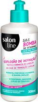 CREME PENTEAR SALON LINE - S.O.S BOMBA TRANSIÇÃO CAPILAR - 300ML