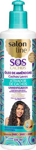 ATIVADOR DE CACHOS SALON LINE - S.O.S CACHOS - LEVE - 300ML