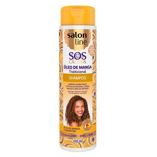 SHAMPOO SALON LINE - S.O.S CACHOS - 300ML