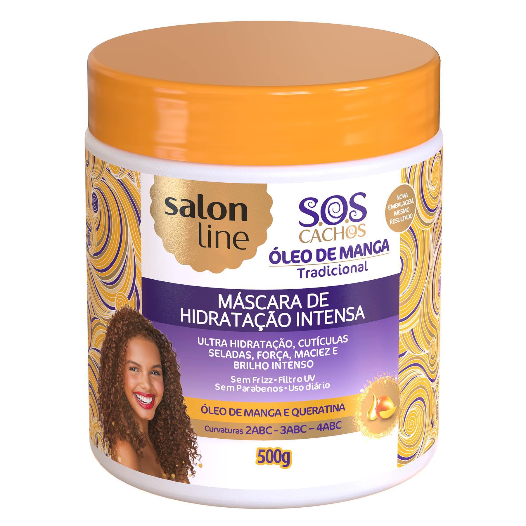 c580f89f4 Máscara Hidratação Intensa 500gr - S.O.S Cachos - Loja Salon Line