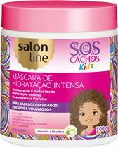 MÁSCARA DE HIDRATAÇÃO INTENSA SALON LINE - S.O.S CACHOS KIDS - 500GR