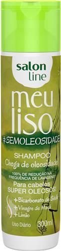 SHAMPOO SALON LINE - MEU LISO SUPER OLEOSOS #SEMOLEOSIDADE - 300ML