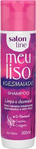 SHAMPOO SALON LINE - MEU LISO #DESMAIADO - 300ML