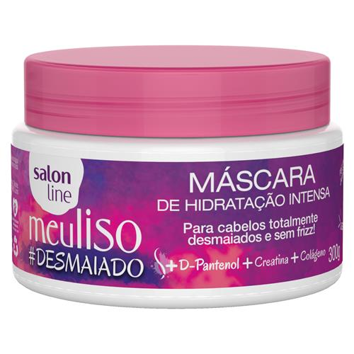 MÁSCARA DE HIDRATAÇÃO INTENSA SALON LINE - MEU LISO #DESMAIADO - 300GR
