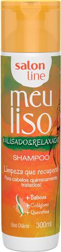 SHAMPOO SALON LINE - MEU LISO #ALISADO&RELAXADO - 300ML