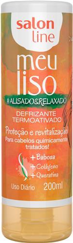 DEFRIZANTE SALON LINE - MEU LISO #ALISADO&RELAXADO 200ML