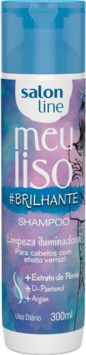 SHAMPOO SALON LINE - MEU LISO #BRILHANTE - 300ML
