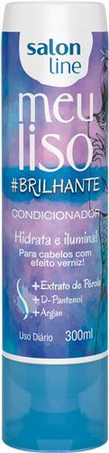 CONDICIONADOR SALON LINE - MEU LISO #BRILHANTE - 300ML