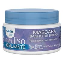 MÁSCARA BANHO DE BRILHO SALON LINE - MEU LISO #BRILHANTE - 300GR