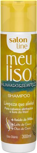 SHAMPOO SALON LINE - MEU LISO #ALINHADO&SEMFRIZZ  300ML