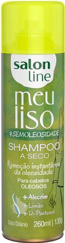 SHAMPOO A SECO SALON LINE - MEU LISO #SEMOLEOSIDADE - 200ML