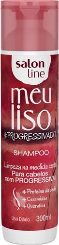 SHAMPOO SALON LINE - MEU LISO #PROGRESSIVADO - 300ML