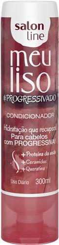 CONDICIONADOR SALON LINE - MEU LISO #PROGRESSIVADO - 300ML