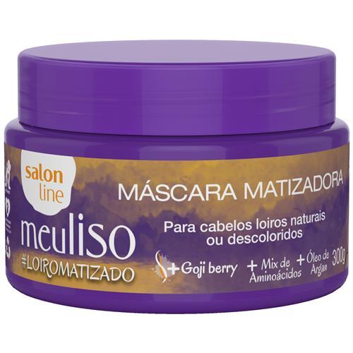 MÁSCARA MATIZADORA SALON LINE - MEU LISO #LOIROMATIZADO - 300GR