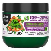 MÁSCARA CONCENTRADA SALON LINE - MARIA NATUREZA PODER CASTANHAS NUTRIÇÃO - 300GR