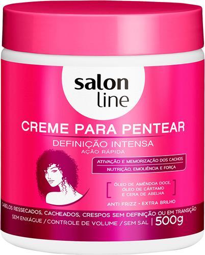CREME PARA PENTEAR SALON LINE - DEFINIÇÃO INTENSA - 500G