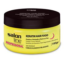 POMADA KERATIN HAIR FOOD NUTRITION - SALON LINE PROFESSIONAL - 195GR