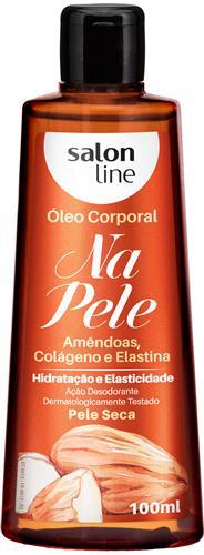 ÓLEO CORPORAL SALON LINE - NA PELE AMÊNDOAS - 100ML