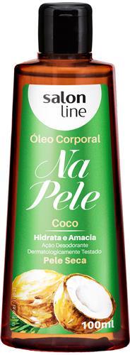 ÓLEO CORPORAL SALON LINE - COCO - 100ML