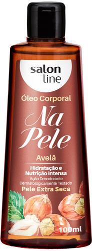ÓLEO CORPORAL SALON LINE - AVELÃ - 100ML