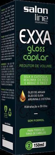EXXA GLOSS CAPILAR SALON LINE - 150 ML