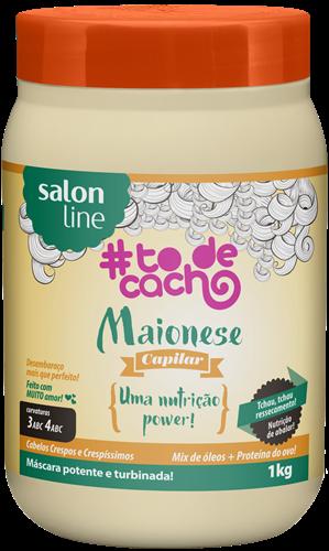 MAIONESE CAPILAR #TODECACHO - NUTRIÇÃO POWER - 1KG
