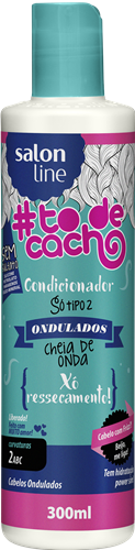 CONDICIONADOR ONDULADOS - CHEIA DE ONDA - {XÔ RESSECAMENTO!} 300ML