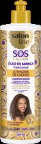ATIVADOR DE CACHOS SALON LINE - S.O.S CACHOS - UMIDIFICADOR FRASCO - 500ML
