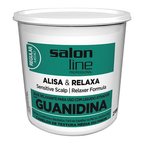 GUANIDINA SALON LINE - TRADICIONAL REGULAR (A+N) 218GR