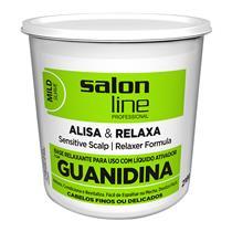 GUANIDINA SALON LINE - TRADICIONAL MILD (A+N) 215GR