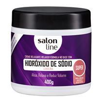 HIDRÓXIDO DE SÓDIO SALON LINE - TRADICIONAL SUPER - 400GR