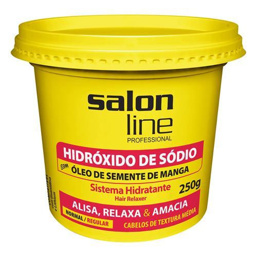 HIDRÓXIDO DE SÓDIO SALON LINE - MANGA REGULAR (N) 250GR