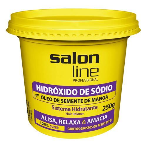 HIDRÓXIDO DE SÓDIO SALON LINE - MANGA SUPER (N) 250GR