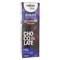KIT COLOR EXPRESS SALON LINE - CHOCO - LOURO ESCURO MARROM