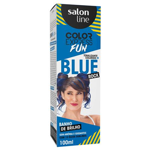 KIT COLOR EXPRESS SALON LINE - FUN BLUE ROCK