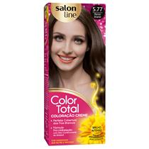 KIT COLOR TOTAL SALON LINE - 5.77 MARRON BROWNIE