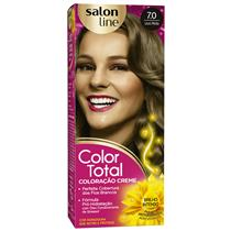 KIT COLOR TOTAL SALON LINE - 7.0 LOURO MÉDIO