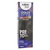 KIT COLOR EXPRESS SALON LINE - PRETO - PRETO NATURAL